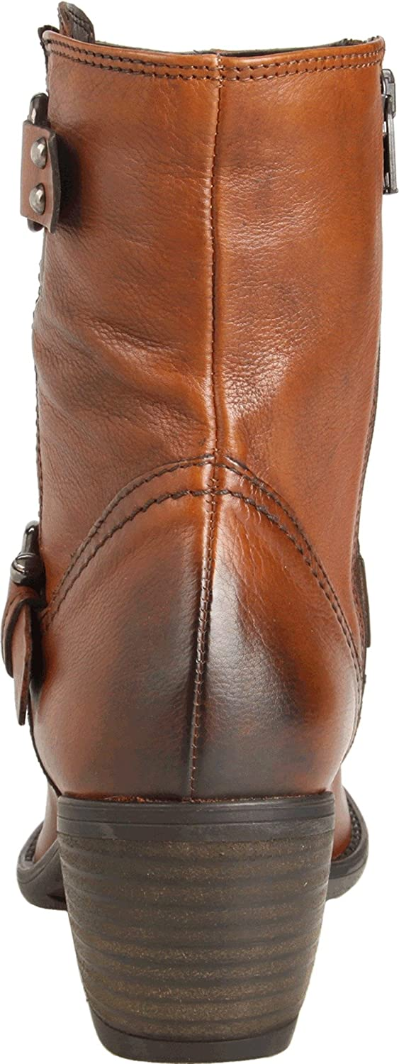 Amazon.com | Clarks Women's Mascarpone Cafe Boot, Tan Leather, 10 M US |  Mid-Calf