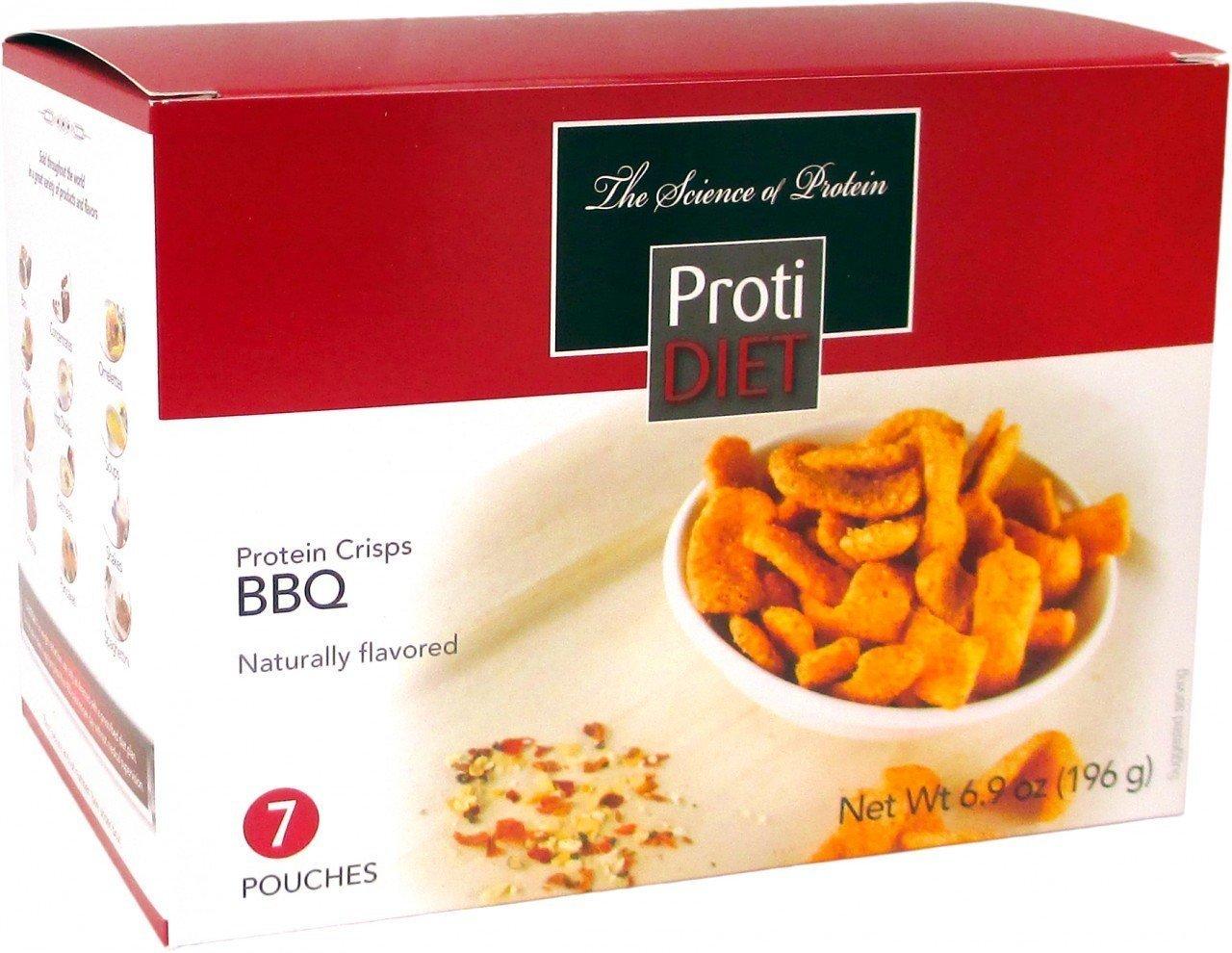 Protidiet BBQ Protein Crisps Net Wt 8.2 oz (231 g)