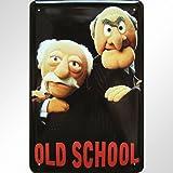 """Muppets - Old School"" Motiv Blechschild"