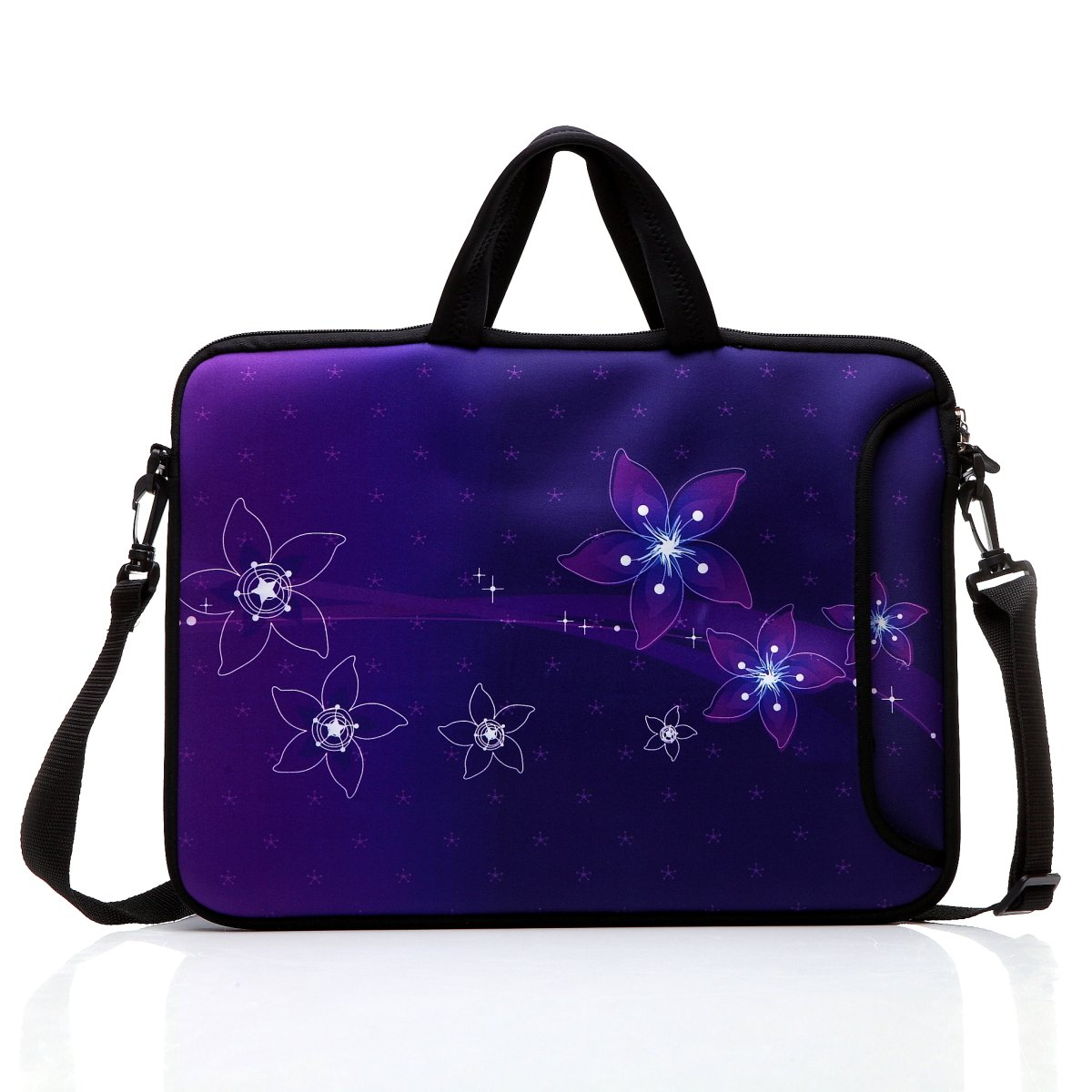 TAIDY 12.5-Inch Laptop Shoulder Bag Sleeve Case with Handle for 11.6 12 12.2 12.5 Netbook/MacBook Air Pro (Purple) 4328552706