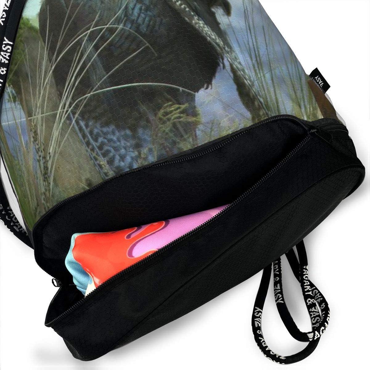 GymSack Drawstring Bag Sackpack Cute Turkey Sport Cinch Pack Simple Bundle Pocke Backpack For Men Women