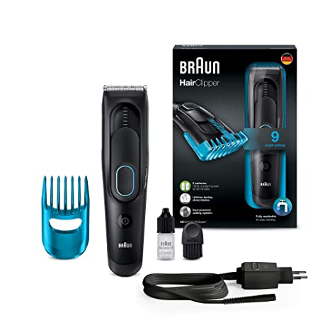 Braun Hair Clipper HC5010 Ultimate Clipping Experience From In 9 Lengths