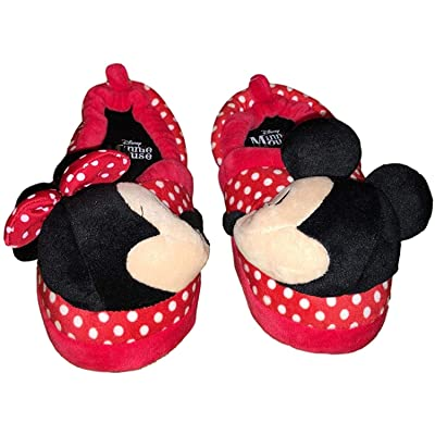 Minnie Mouse Disney Girls Mickey Mouse Kissing Slide Slippers | Sandals