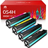 Toner Kingdom Compatible Toner Cartridge Replacement for Canon 054H 054 High Yield CRG-054 for Canon Color ImageClass LBP622C