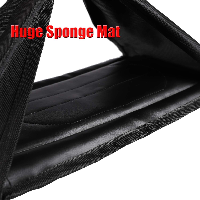 Flytool Ab Straps Core Exercise Equipment Training Gym Abdominal Hanging Straps, Black by Flytool (Image #4)