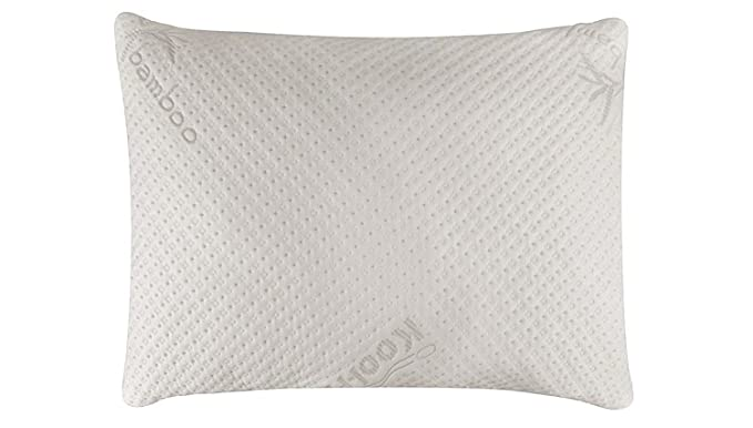 Snuggle-Pedic Breathable Cooling Hypoallergenic Pillow - The Supportive and All-Natural