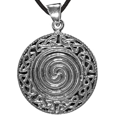 Amazon celtic spiral pendant pendents with a spiral jewelry aloadofball Image collections