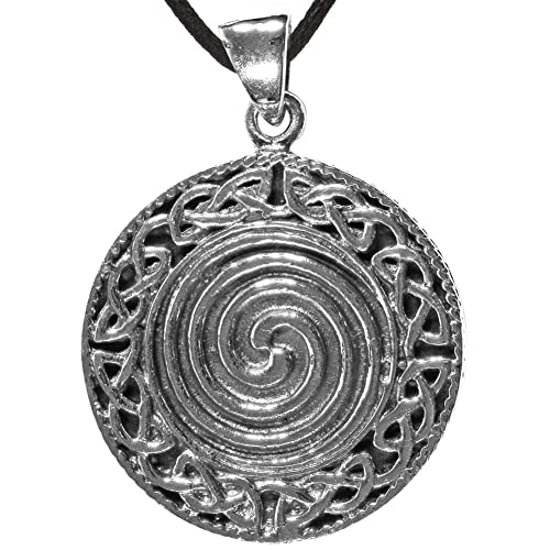 Amazon celtic spiral pendant pendents with a spiral jewelry celtic spiral pendant aloadofball Images
