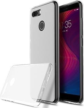 KuGi Funda Lenovo K5 Play, TPU Transparente Slim Silicona Case Cover [Anti-arañazos] para Lenovo K5 Play(Transparente): Amazon.es: Electrónica