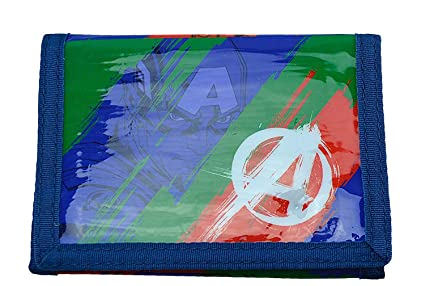 Marvel: Avengers Wallett Monedero, 13 cm, 234 Liters, Verde ...