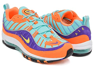 Nike Air Max 98 QS Cone Tour Yellow Hyper Grape | Footshop