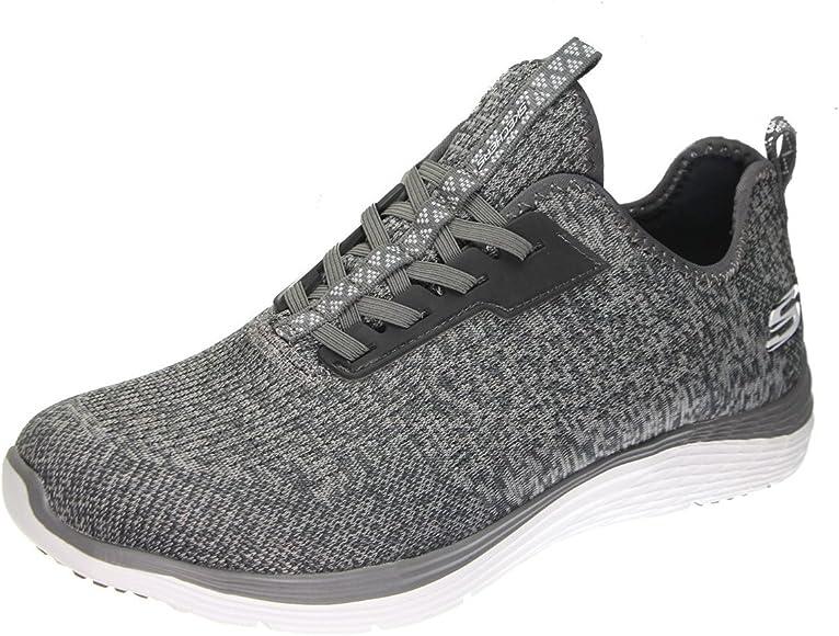 Skechers Valeris - Zapatillas deportivas para mujer, caña baja, color Gris, talla 36.5 EU: Amazon.es: Zapatos y complementos