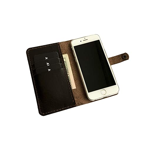 the best attitude e4620 20974 Amazon.com: Handmade iPhone 6s case Personalized leather 6s wallet ...