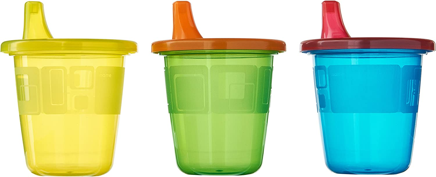 4 Pk The First Years Take /& Toss Spill-Proof Cups 300ml