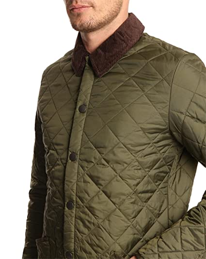 BARBOUR - Jackets - Men - Heritage Liddesdale Olive Quilted Jacket   Amazon.co.uk  Clothing 0a2dbc5f936b
