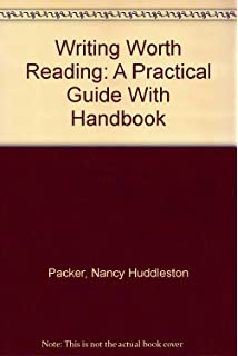 Amazon writing worth reading the critical process writing worth reading a practical guide with handbook fandeluxe Choice Image