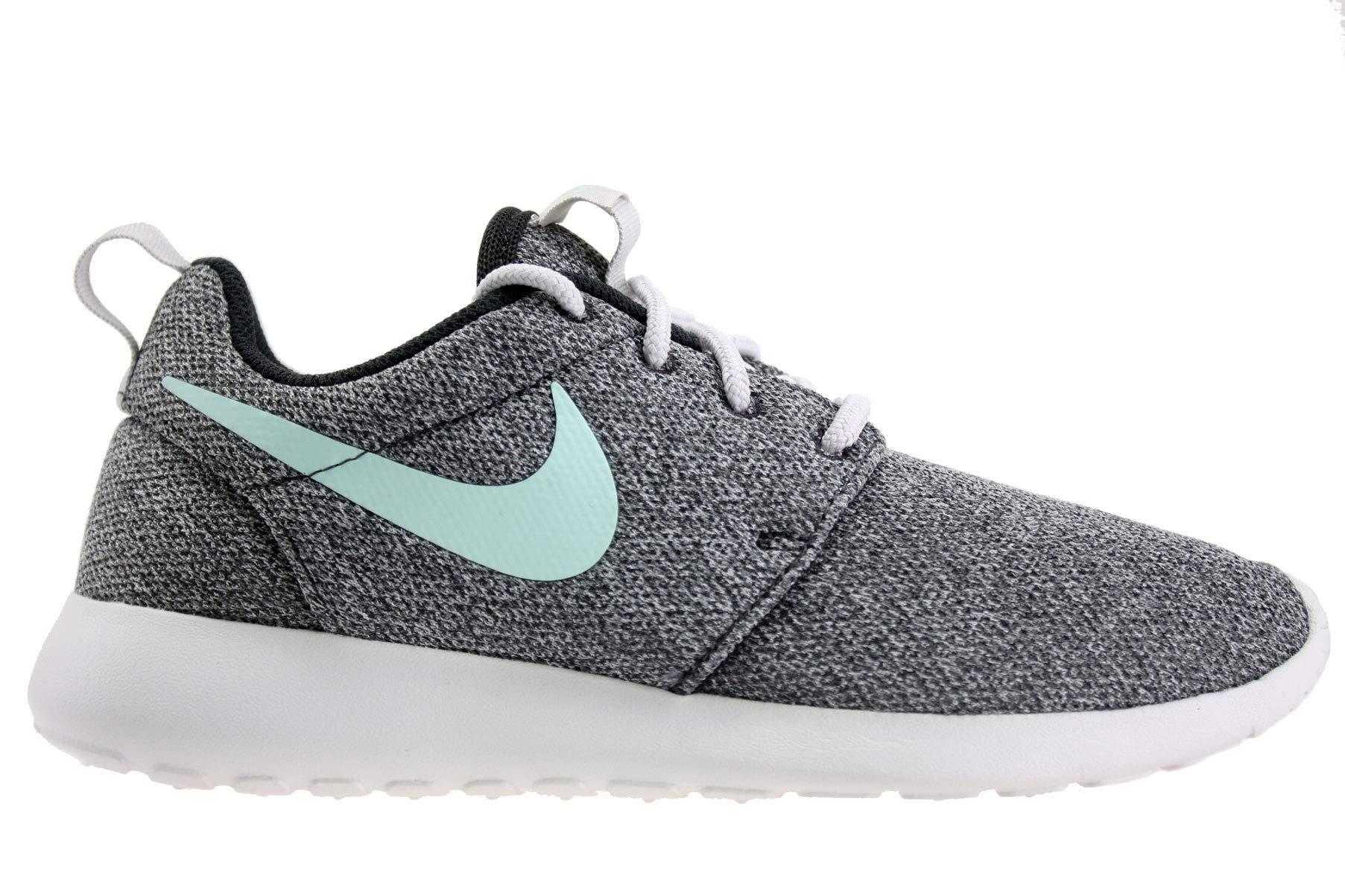 f244a24fa2c78 NIKE Womens Roshe One Running Shoes Oil Grey Igloo Summit White 844994-009  Size 6.5