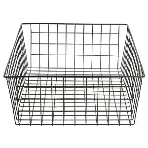 Bagel Basket Rectangular Black Wire - 14 5/16 L x 20 1/4 W x 6 1/8 H