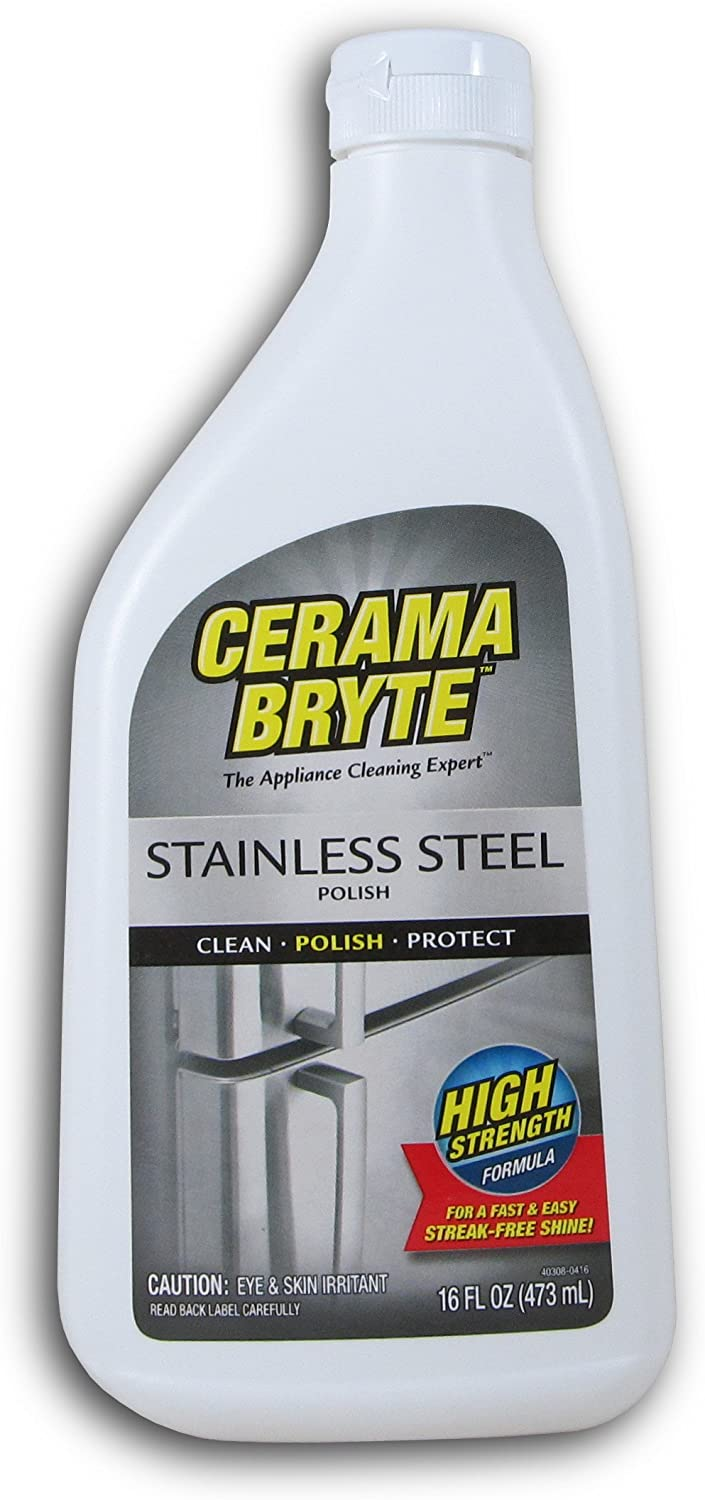 Amazon.com: Cerama Bryte Protective Stainless Steel Cleaning ...