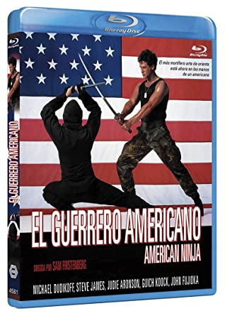 El Guerrero Americano BD 1985 American Ninja Blu-ray: Amazon ...