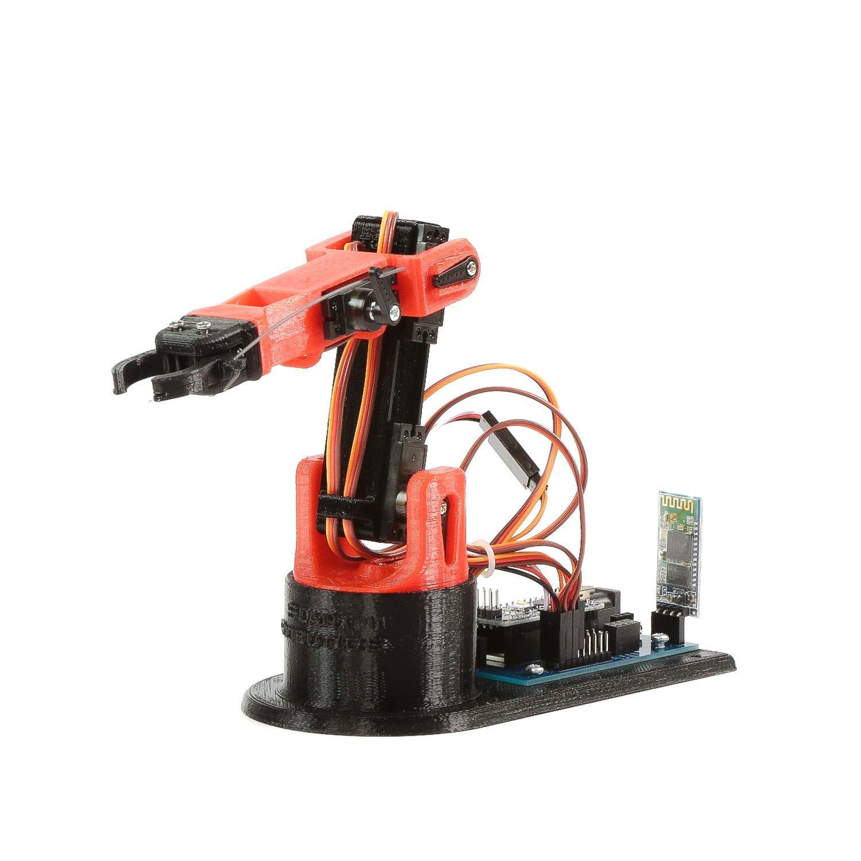 LittleArm Arduino Robot Arm 2C Robotics Kit