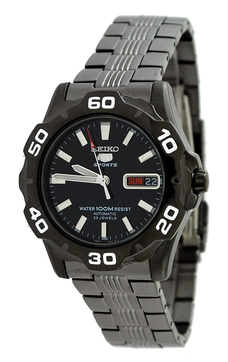 Amazon.com: Seiko Mens Watches Seiko 5 Sports SNZF93K1 - 4 ...