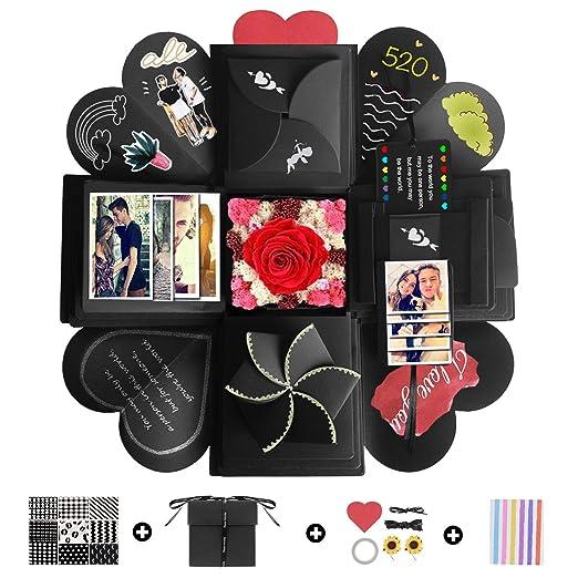 YeeStone Caja de explosión creativa DIY álbum de fotos ...