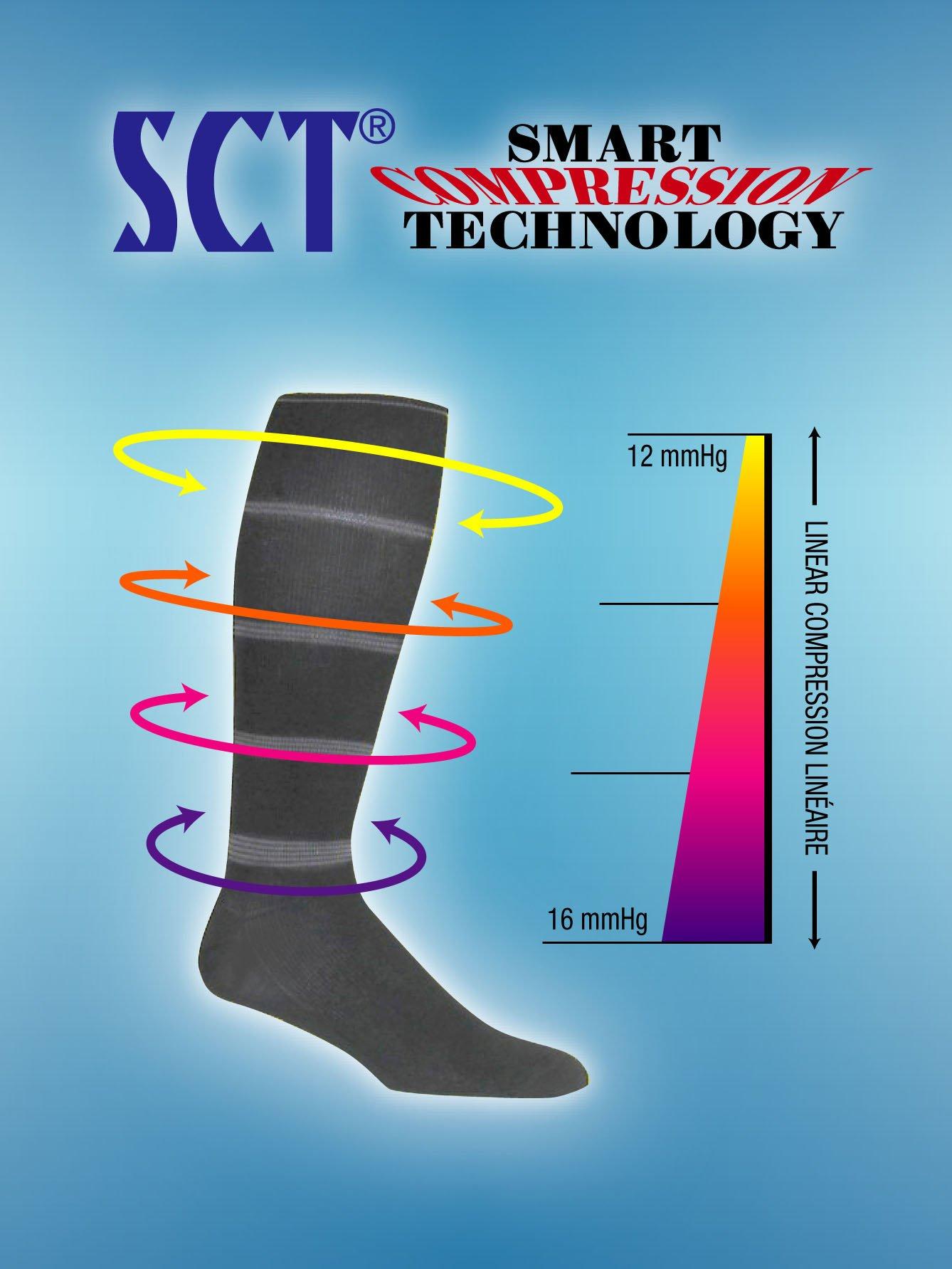 Arriva Travel-Tec- SCT Travel Legwear (Womens shoe size 5-9) Black