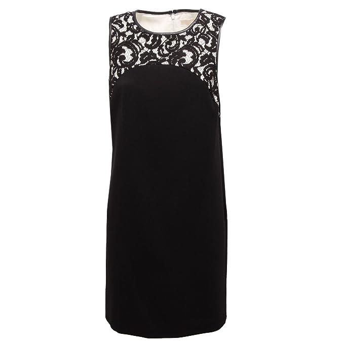 Michael Kors 7846R vestito donna nero abito dress woman  8 46   Amazon.it   Abbigliamento 66f762894f4