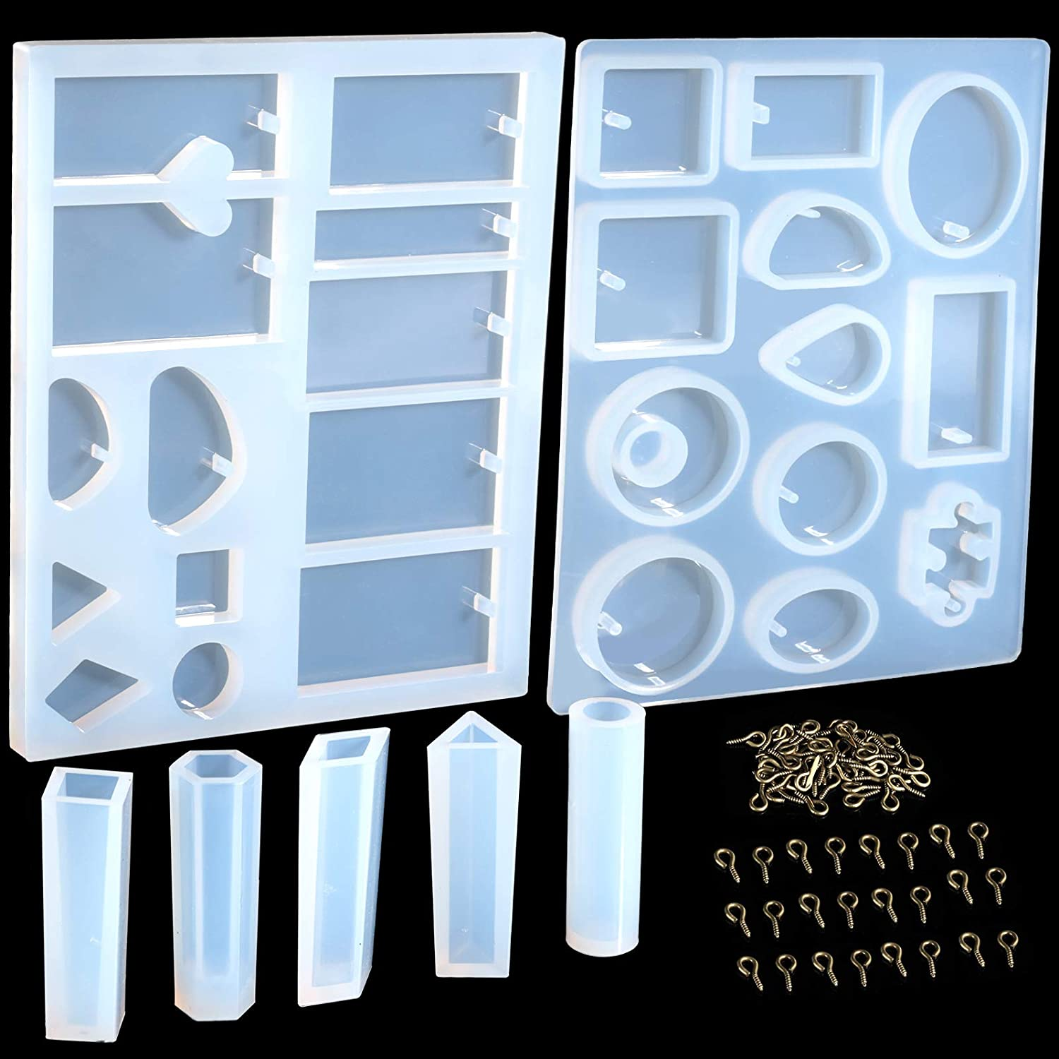 Mould Art Jewelry Making Molds Resin Pendant Craft Small DIY Silicone M3D8