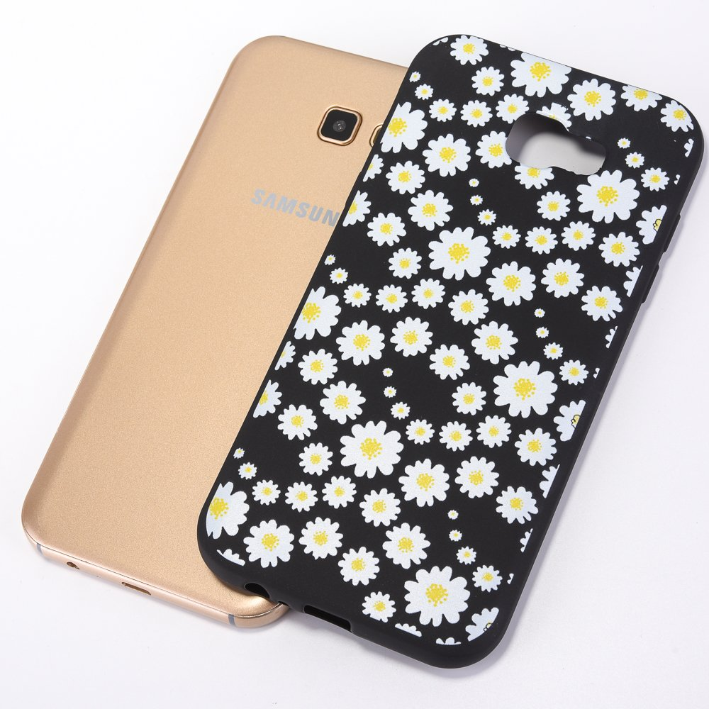 Coque pour Samsung Galaxy A7 2017,Samsung Galaxy A7 2017 Silicone Housse Etui,EUWLY Ultra Mince Opaque TPU Silicone Slim Housse Etui Case Soft Gel Cover Skin,Scrub Silicone Soft TPU Silicium /Étui Housse Coque Pour Samsung Galaxy A7 2017,Ultra Slim F