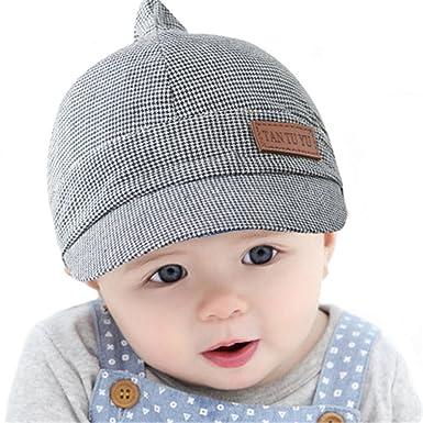 Casquette Chapeau Bonnet Bébé Enfant Fille Garçon Gris  Amazon.fr ... c90cbb365a6