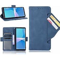 ESONG Hoesje voor OnePlus Nord 2 5G Case,Flip Retro Leer Hoes,360° Protector Cover met Magnetisch,Kaartsleuf,Staande…