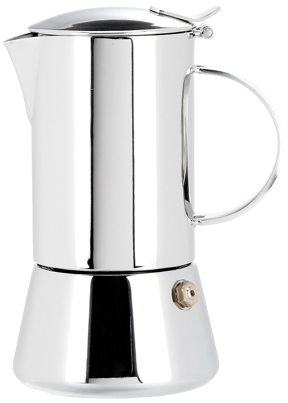Cilio Aida Stainless Steel 2 Cup Espresso Maker Cafetiere CI342239