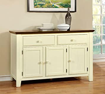 Amazon.com - Furniture of America CM3216SV Harrisburg Server Dining ...