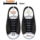 c3dc1519d107 Amazon.com  No Tie Shoelaces for Kids and Adults