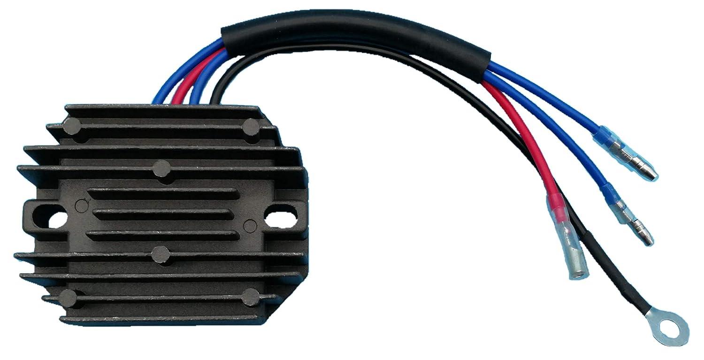 Tuzliufi Voltage Regulator Rectifier Replace Kubota Tractor B4200 B4200D B5100E B5100D B5100D-P B5100E-P B6100D-P B6100E-P B6100HST-D B6100HST-E B7100D B7100D-P B7100HST-D B7100HST-E 15372-64600 Z167 Generic