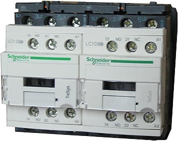Schneider électrique LC2D25F7 Reversin contacteur 110 V 50//60Hz 11KW//400V 15HP//460V