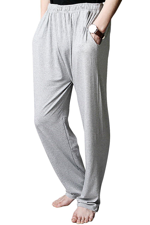 52917b4439 Dolamen Homme Bas de pyjama longue, 2018 Homme Modal Coton Sous ...