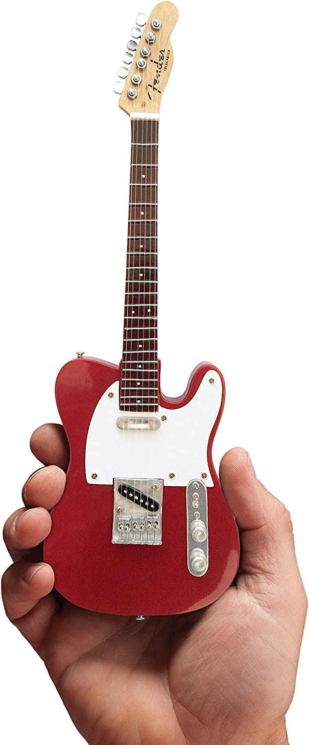 Candy Apple Red Fender Telecaster Miniature Guitar Replica - Officially Licensed