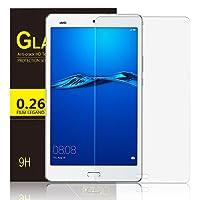 IVSO Pellicola Protettiva Schermo in Vetro Temperato per Huawei MediaPad M3 Lite 8.0 Tablet (Tempered Glass - 1 Pack)