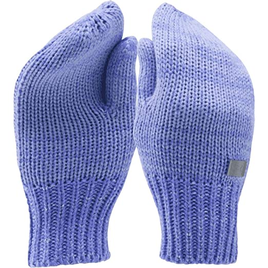 d107a971ce7 Amazon.com  Under Armour UA Shimmer Knit Mittens Y VIOLET STORM  Clothing