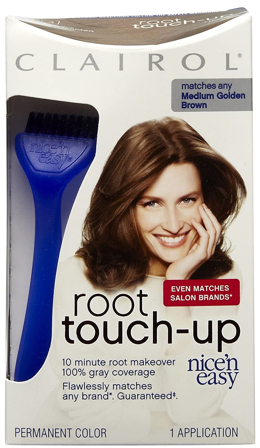 Clairol Nice 'N Easy Root Touch-Up Kit, Medium Golden Brown 5G CL01248