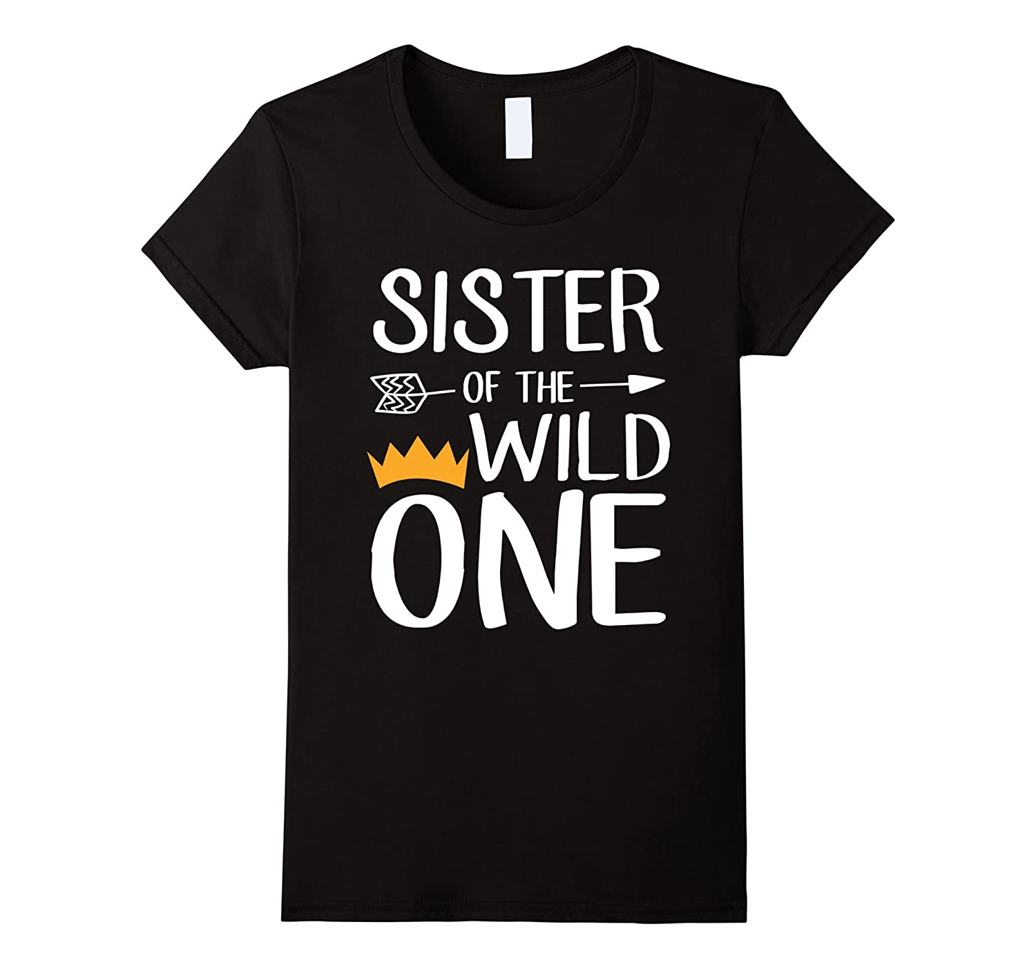 Sister Of The Wild One Cute 1st Birthday Funny Shirt-Teesml