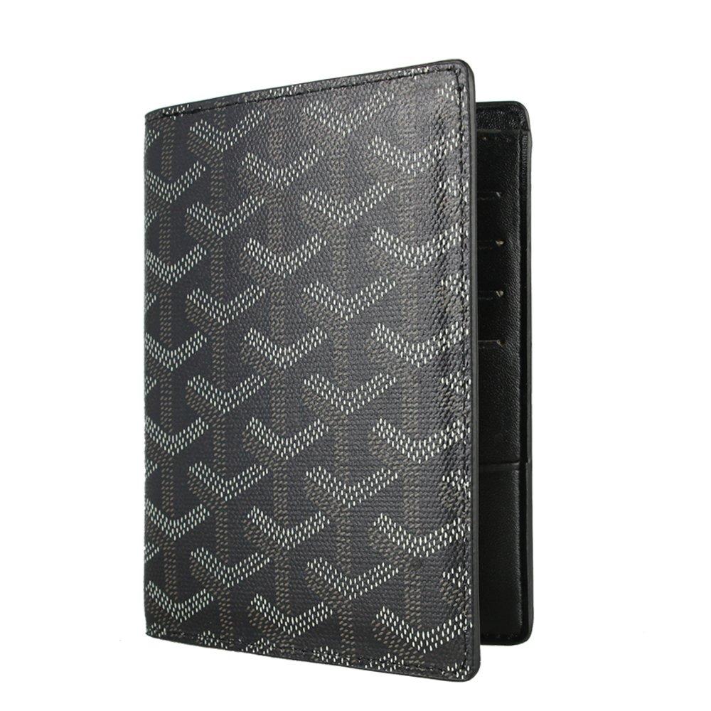 Stylesty Designer Passport Holder Travel Wallet,PU Leather Passport Cover/ Case for Men & Women (black) by Stylestys