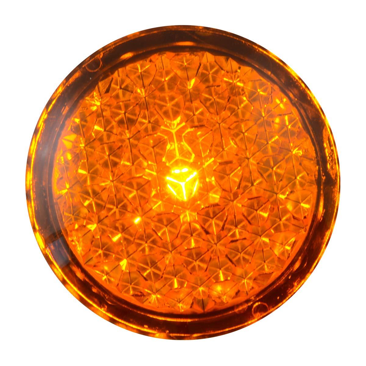 Grand General 82310 Light Amber Reflective Stick-On