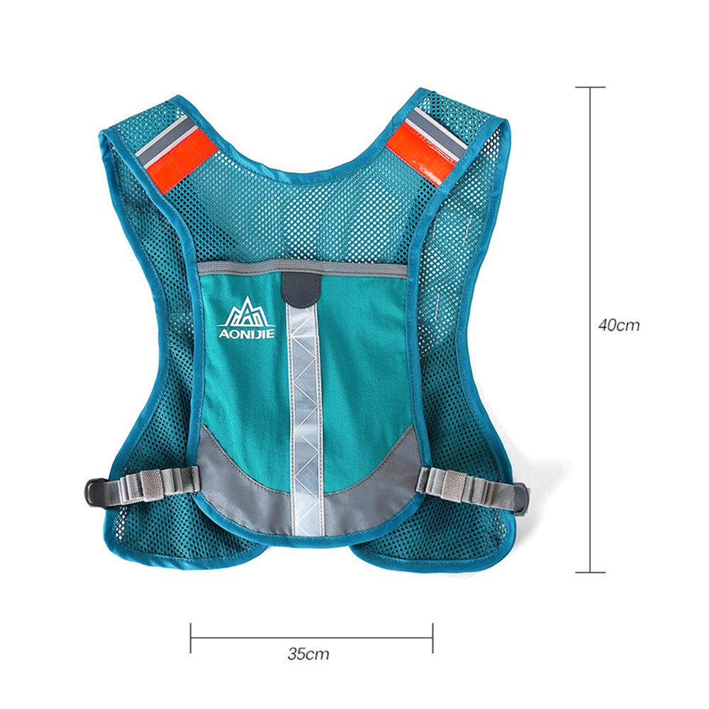 Amazon.com : AONIJIE Marathon Running Vest Pack Hydration Backpack Outdoor Sport Bag Triathlon Race Hiking Fitness With 2 250ml Water Bottles(Optional), ...