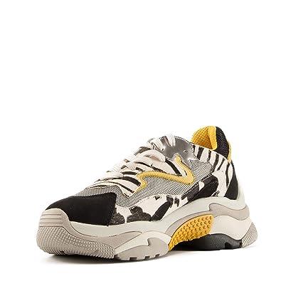 81aa0ba8770 Ash Footwear Addict Baskets Femme en Cuir Multicolore