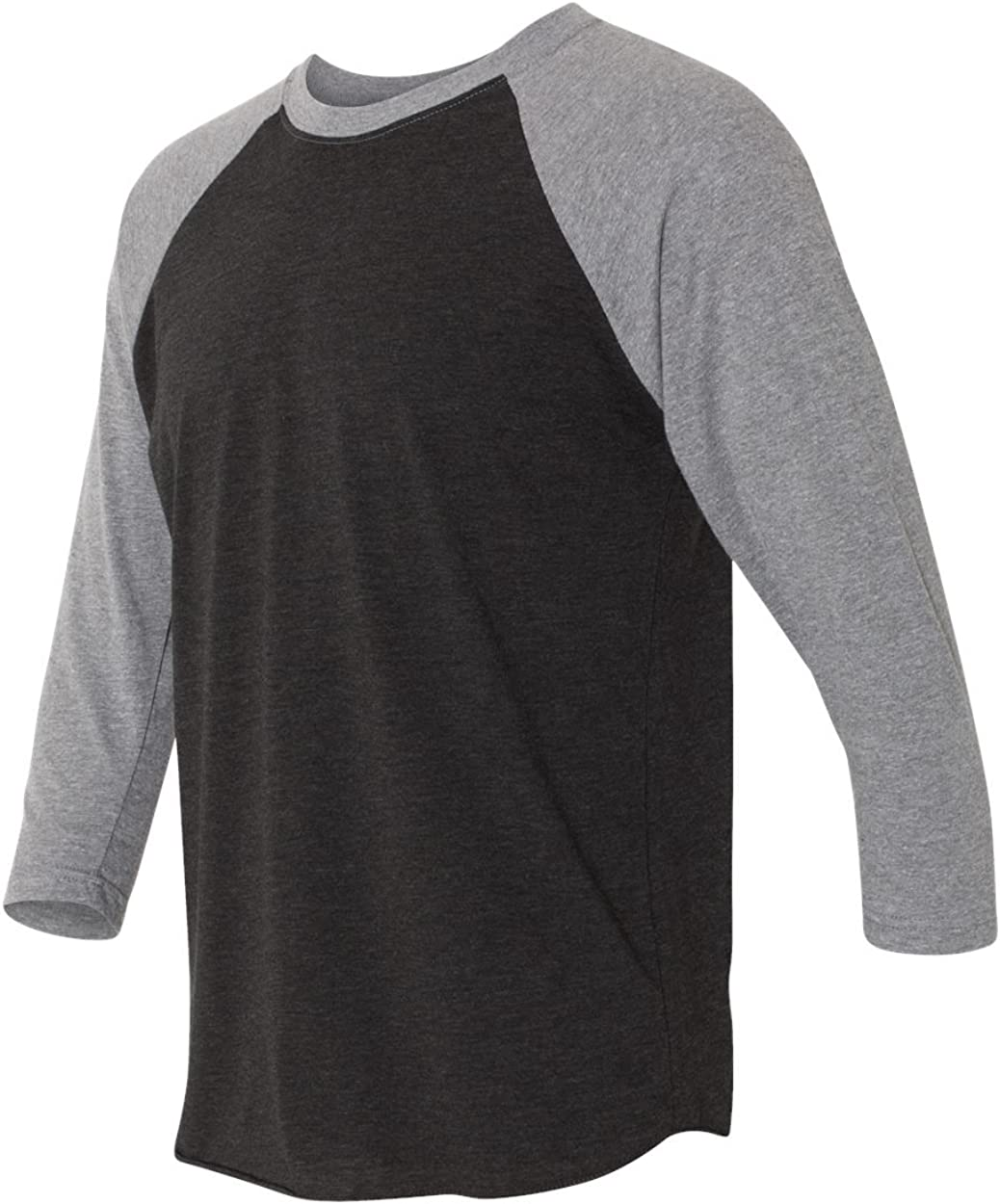 Cindy Apparel Next Level 6051 Women\'s Tri-Blend 3/4-Sleeve Raglan Tee Shirt 71w9NCb646L