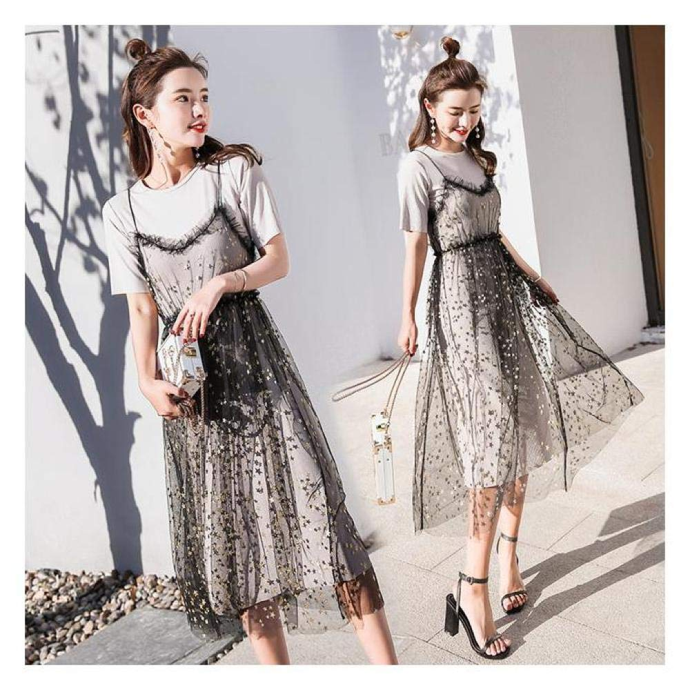 Buy Xuba Korean Fashion Women Summer Dress Casual Beach O Neck